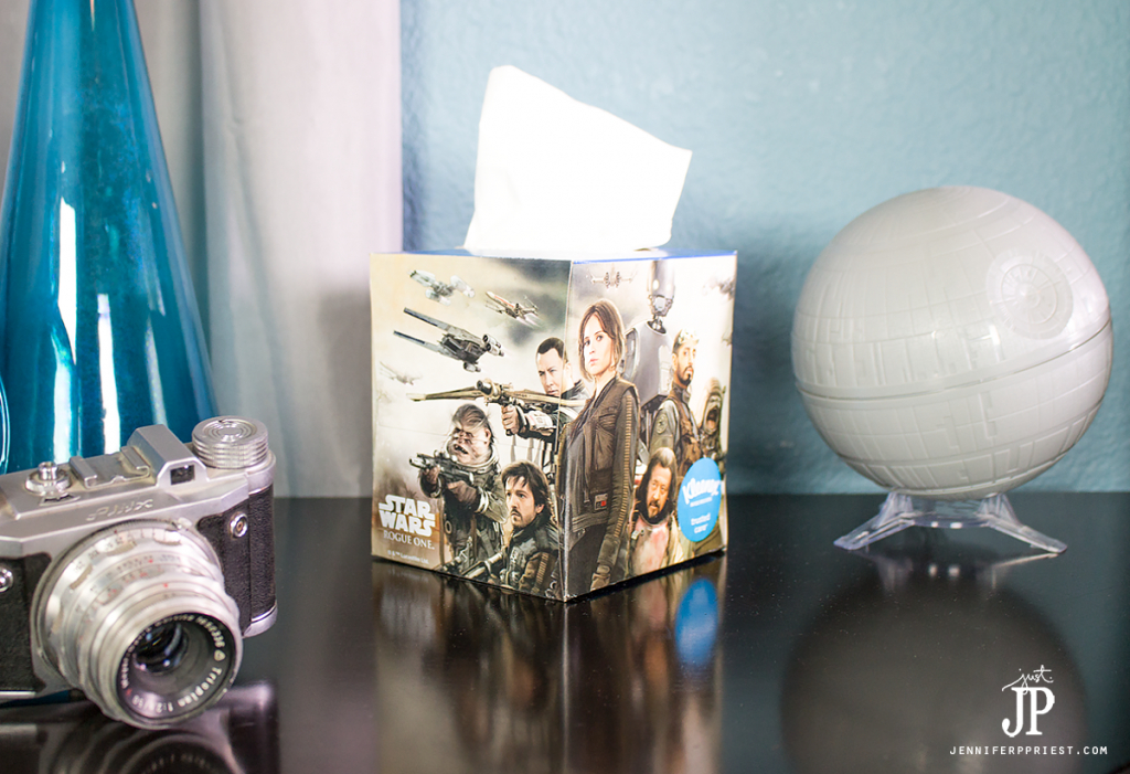 kleenex-brand-box-featuring-rogue-one-a-star-wars-story-designs-on-nightstand-jenniferppriest