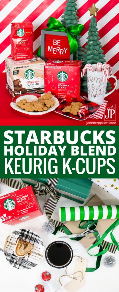 Starbucks® Christmas Blend and Starbucks® Christmas Blend Blonde Roast—in the convenience of a K-Cup® pack. Starbucks® Christmas Blend celebrates its 30th birthday and rings in the holidays with a distinctive blend of Latin American and Aged Sumatran beans.
