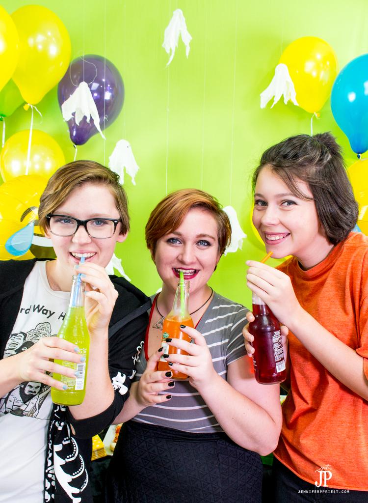 drinks-at-snapchat-halloween-party-jenniferppriest