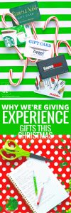 Adventure gifts - why we're giving experience gifts this year. With the minimalist movement, KonMari, and purging, here's how to give gifts that matter for Christmas. https://www.smartfundiy.com/giving-adventure-gifts-year/
