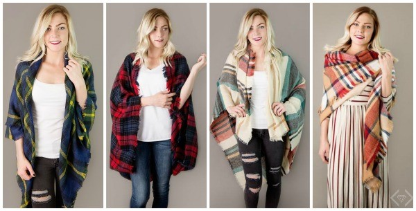 7 plaid scarf ideas