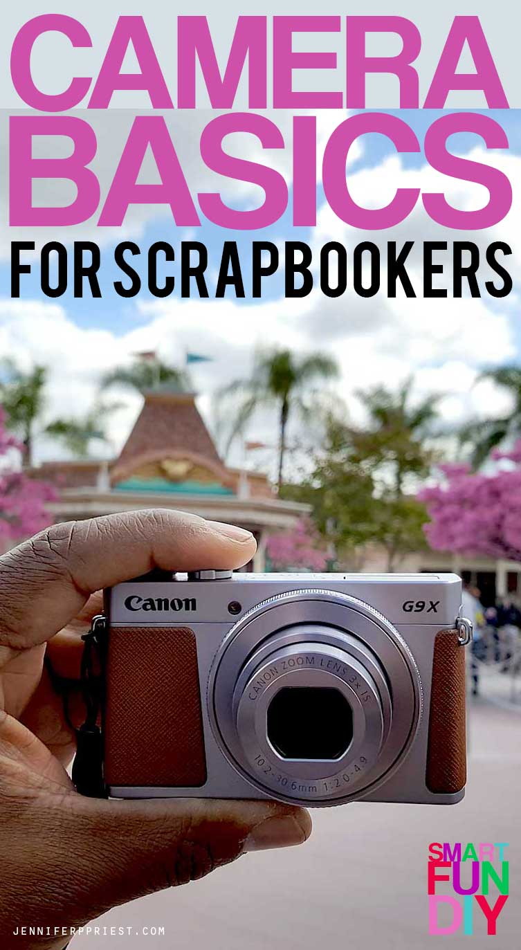 Camera basics for scrapbookers - looking to upgrade your camera but don't know if you need a DSLR or point and shoot? Start here!