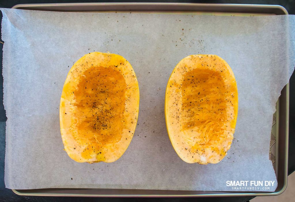 How to make spaghetti squash #doingthe99 #99YourMothersDay