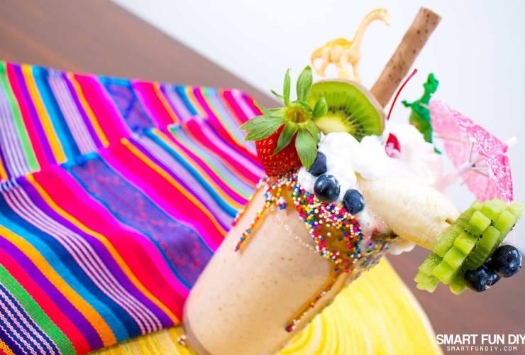 Totally Bananas Date Night Epic Milkshake – Banana Date Shake Recipe