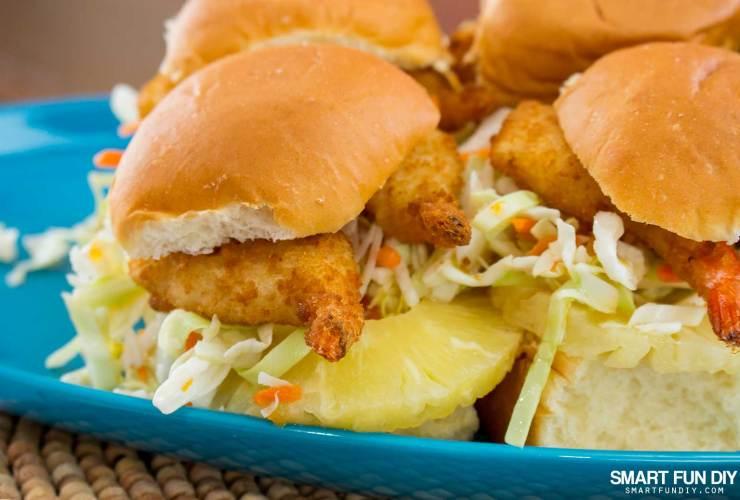 Coconut Shrimp Sliders – 20 Minute Meal