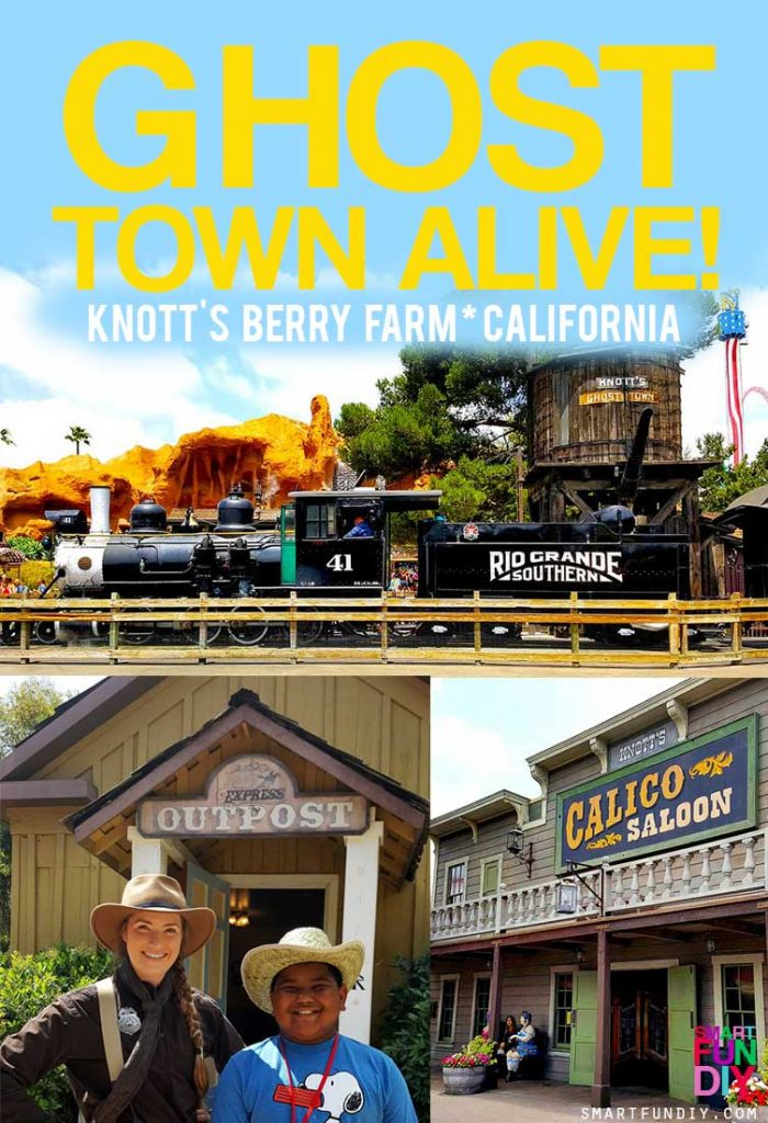 Inside GHOST TOWN ALIVE! at Knott's Berry Farm! Now through Sept 4, go back in time to 1885 in Calico Ghost Town ... details here: https://www.smartfundiy.com/knotts-ghost-town-alive/ #GhostTownAlive #KnottsBerryFarm