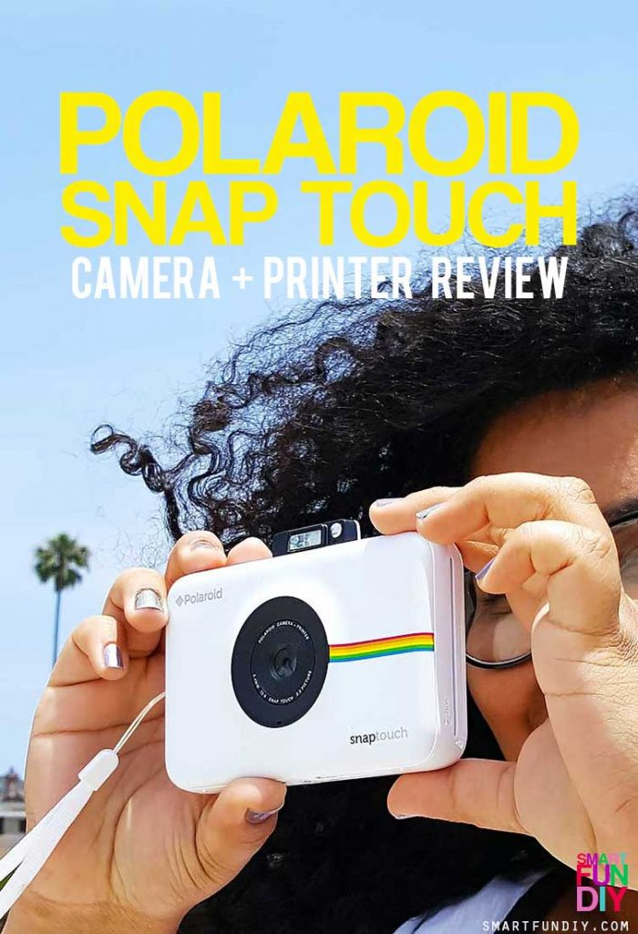 Polaroid Snap Touch Camera REVIEW - how does it work in low light? Is it good for vacations? When would you use it? Get the FULL DETAILS and a coupon code here!