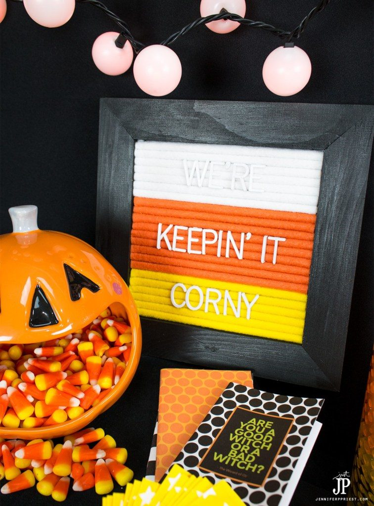 Candy Corn Roundup Smart Fun DIY