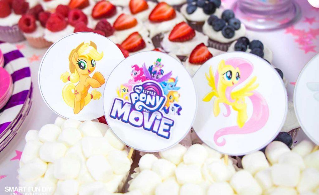 DIY My Little Pony Party - My Little Pony: The Movie
