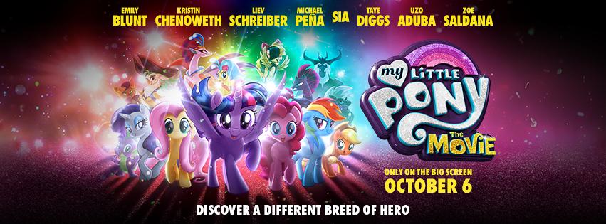My Little Pony Movie Banner
