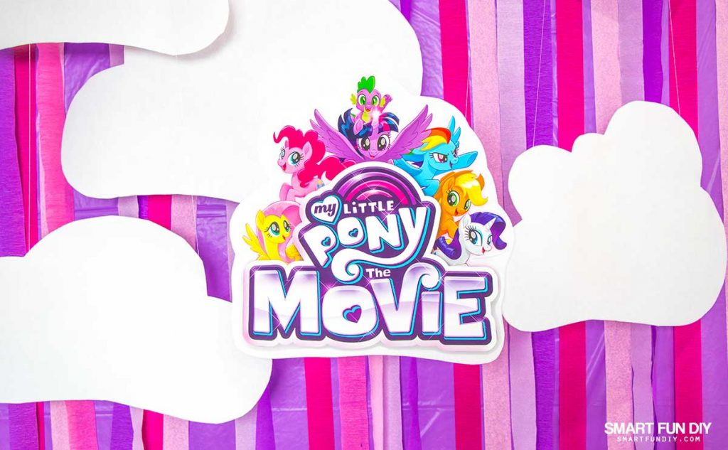 My Little Pony Party free printable logo