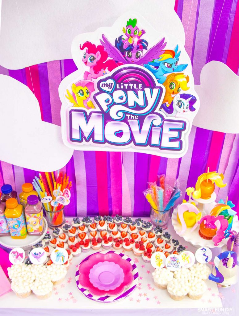 My Little Pony Party Spread
