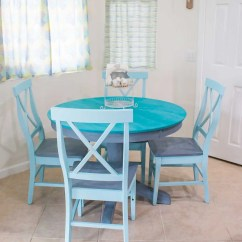 Plastic Adirondack Chairs Walmart Kids Table And Chair Sets Chalk Paint Makeover