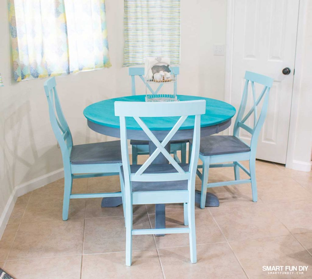 92 Best Images About Kitchen Table Redo On Pinterest: Chalk Paint Table Makeover