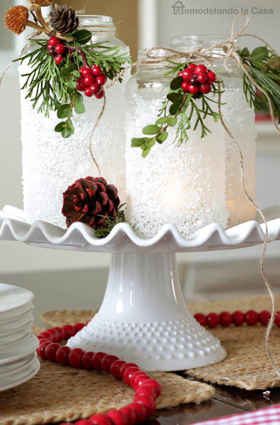 Holiday Centerpiece - Smart Fun DIY
