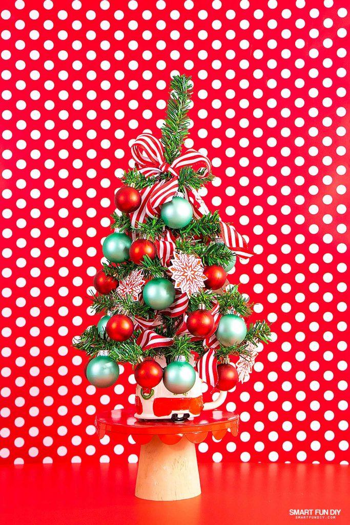 Diy Vintage Trailer Tabletop Christmas Tree