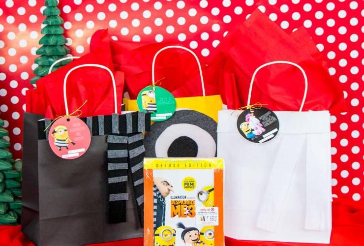 Despicable Me Gift Wrap Ideas