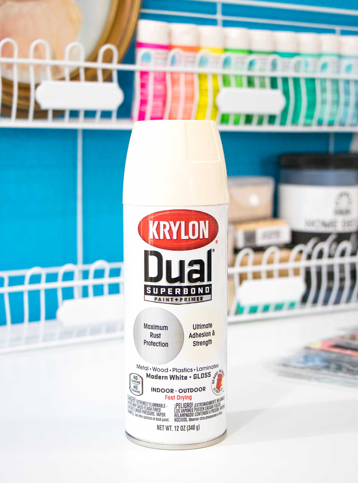 krylon dual superbond spray paint