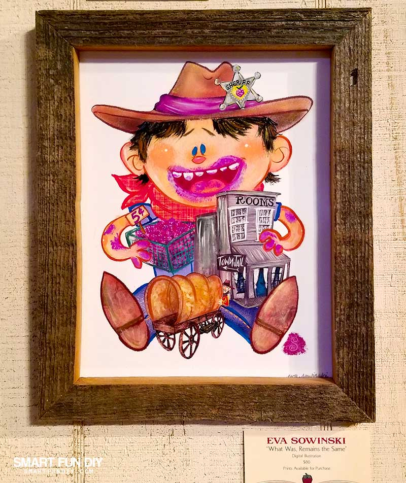Boysenberry Art at Knott's Berry Farm