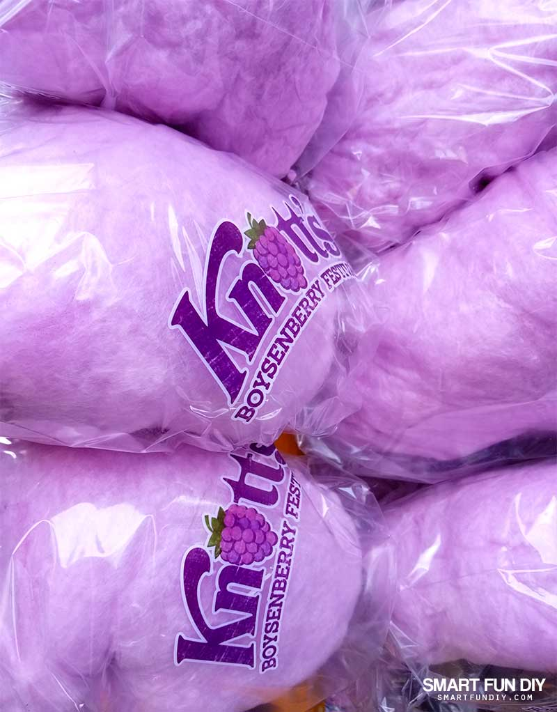 Boysenberry Cotton Candy