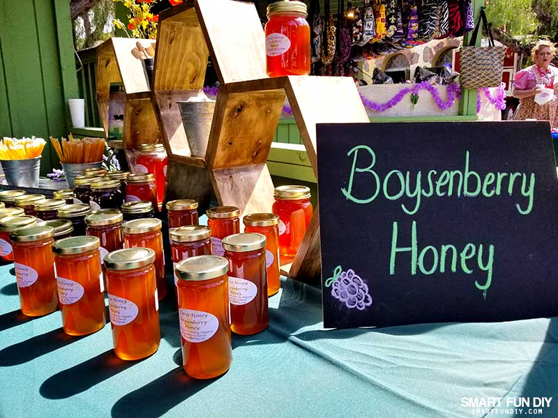 Boysenberry Honey