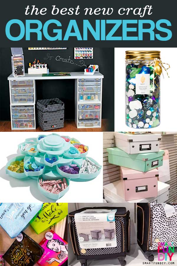 collage of best craft organizers 2018