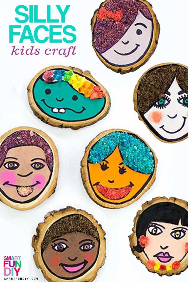 Self-Portrait for Kids with Fruity Pebbles! El Día Del Niño