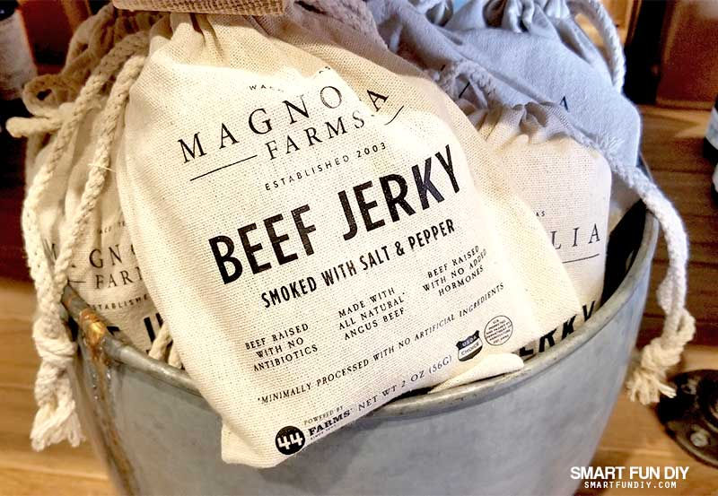 Magnolia Beef jerky package