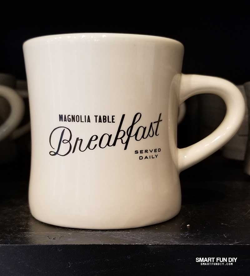 Coffee cup from Magnolia Table restaurant