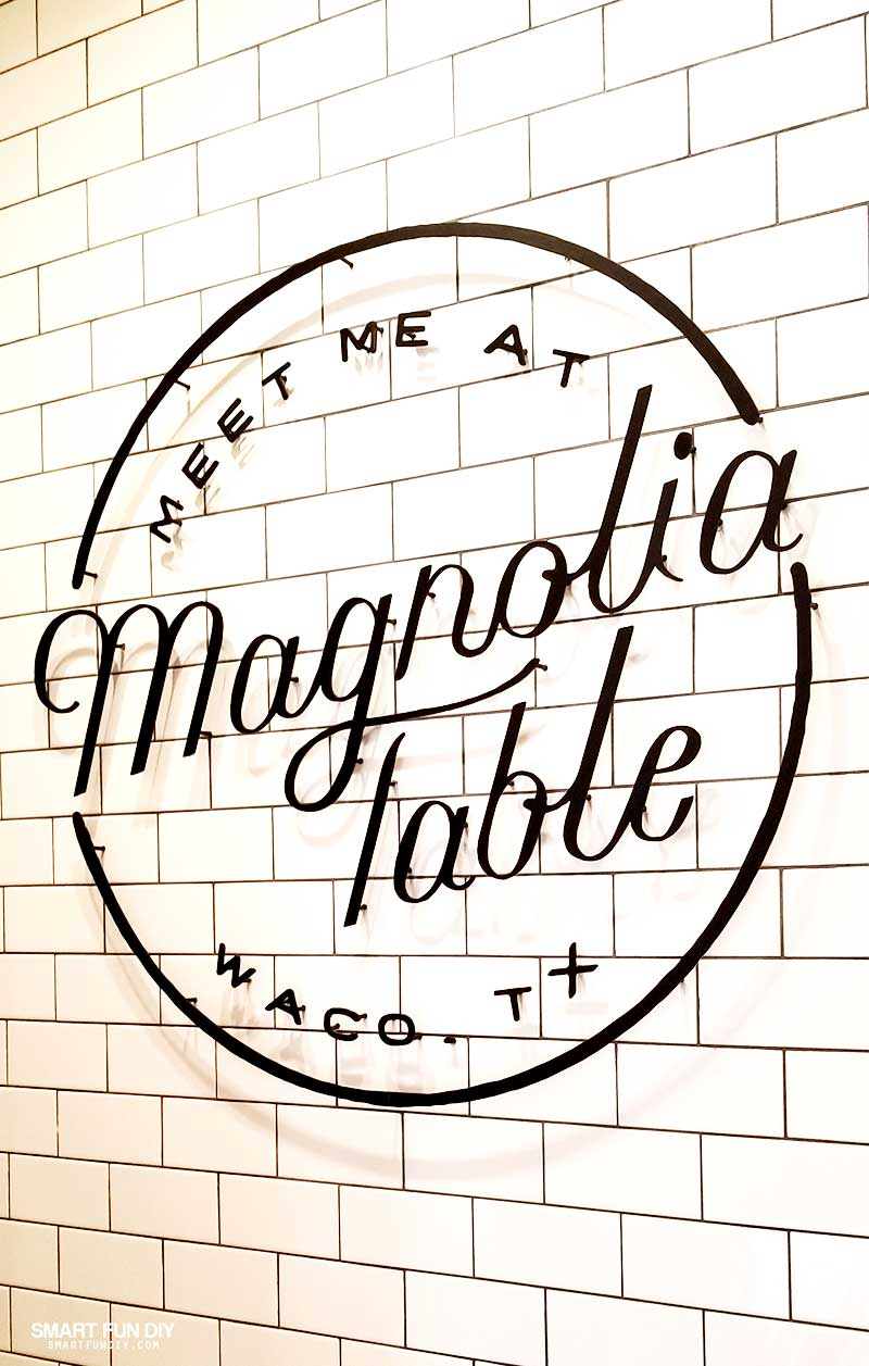 Magnolia Table Wall Sign