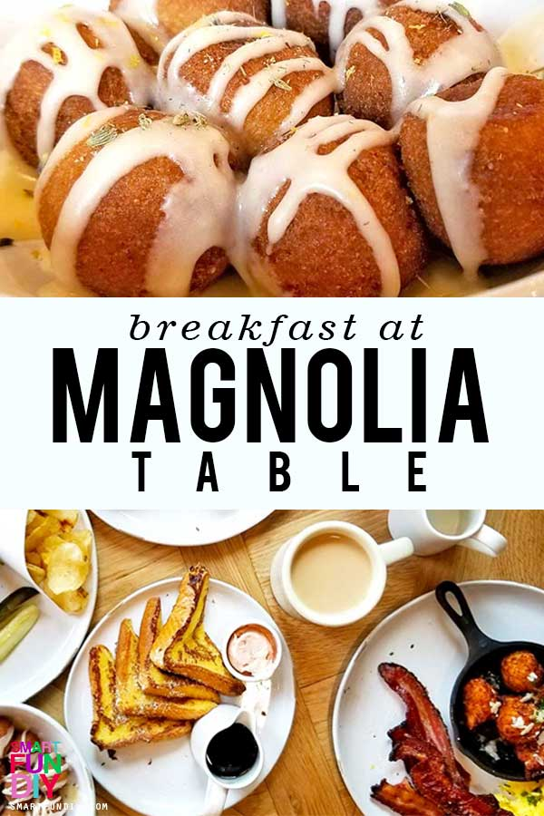 Donut Holes and breakfast at Magnolia Table restaurant