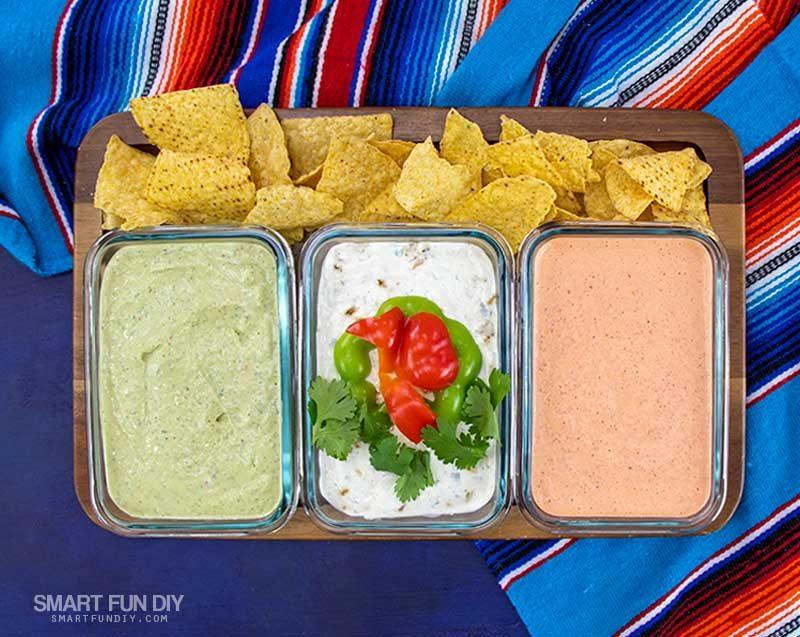 Trio of Mexican Dip Recipes