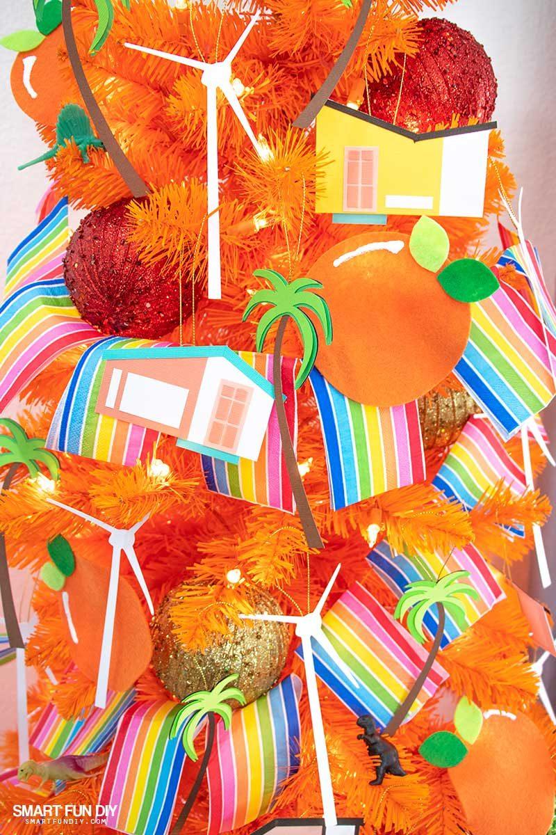 handmade palm springs christmas decorations