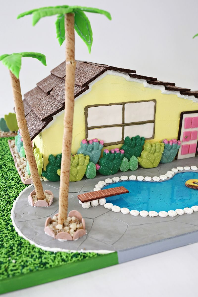 palm springs gingerbread house
