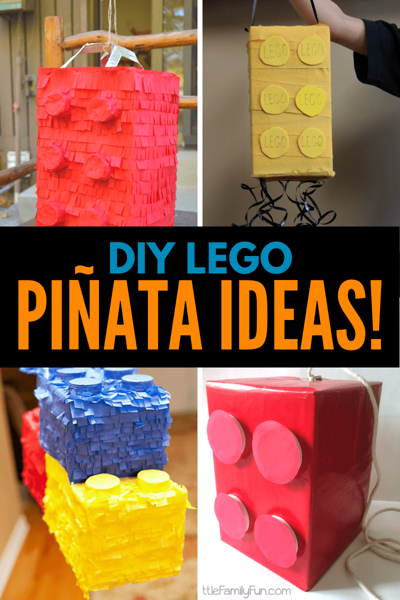 DIY Lego Pinatas Collage