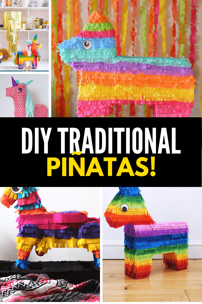 DIY Traditional Pinatas
