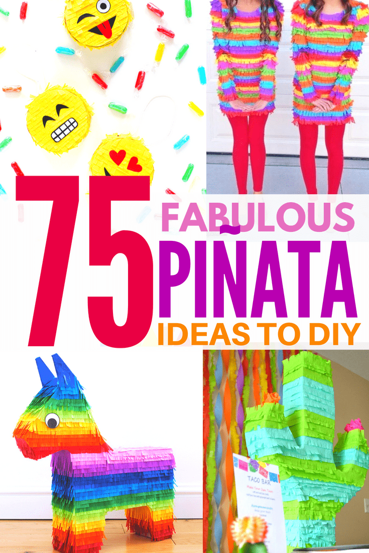 pinata ideas collage image
