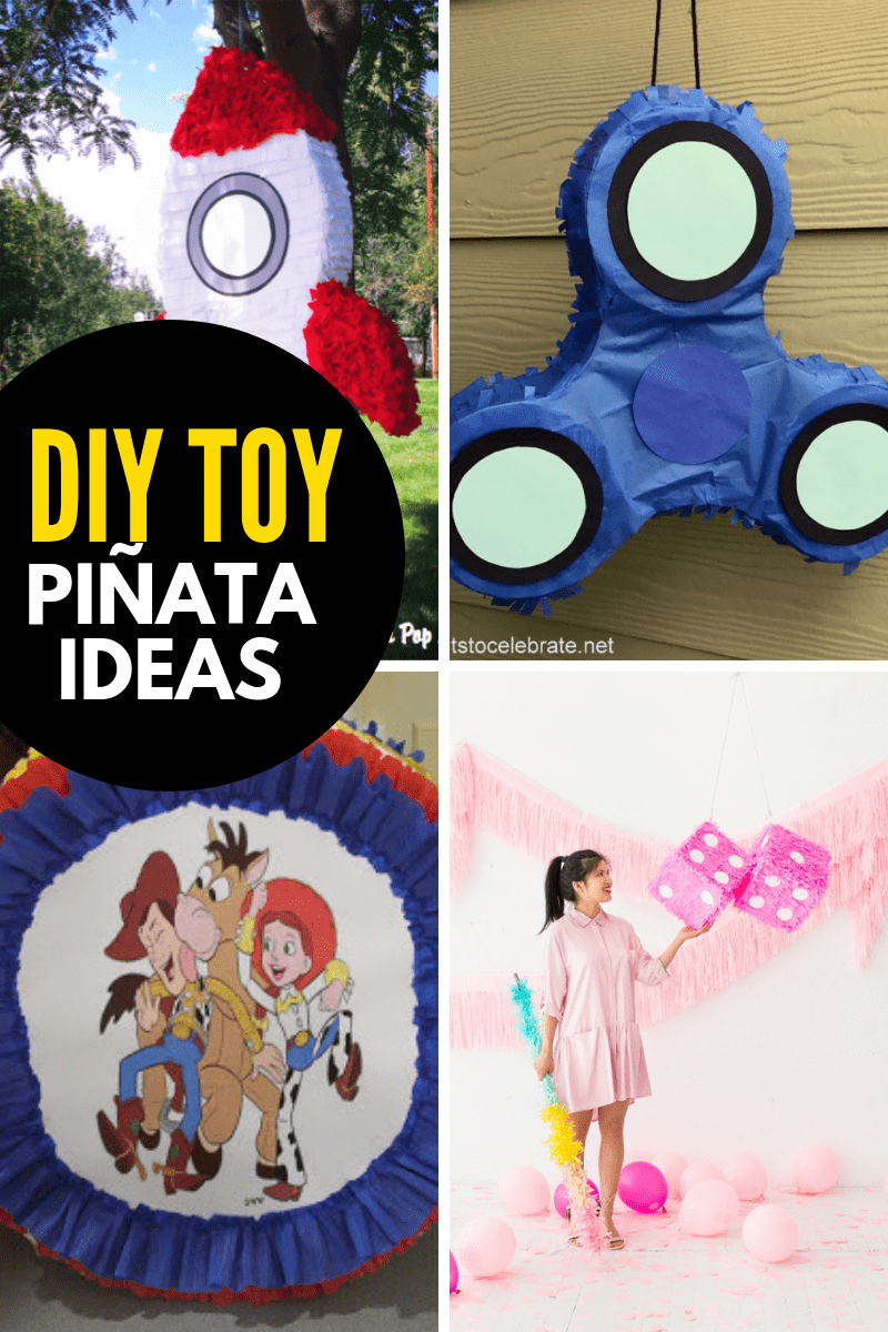 DIY Toy Pinatas
