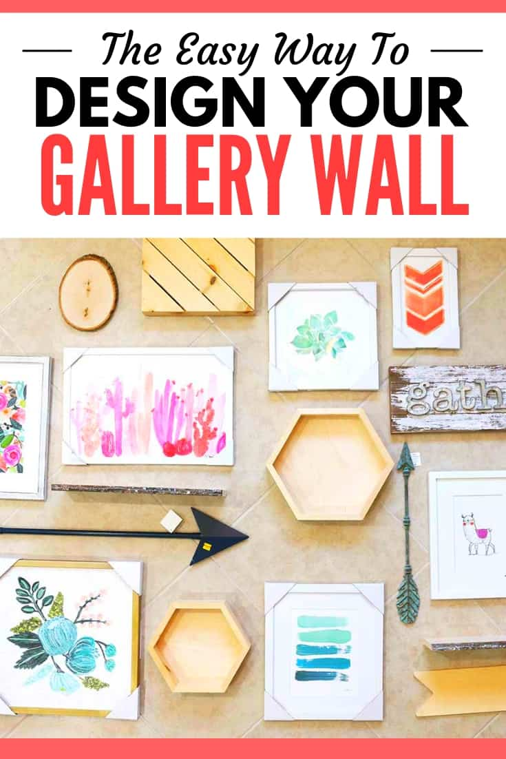 graphic: the easy way to design your gallery wall