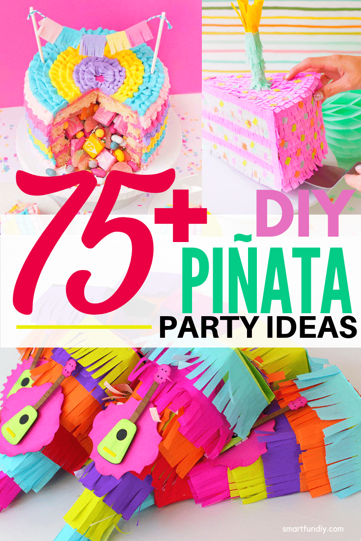 pinata collage image