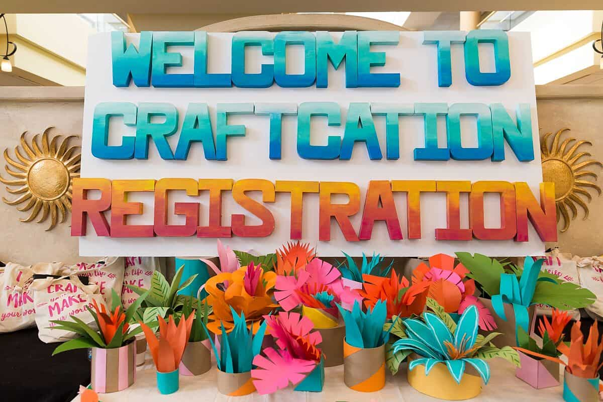 Craftcation Registration Photo