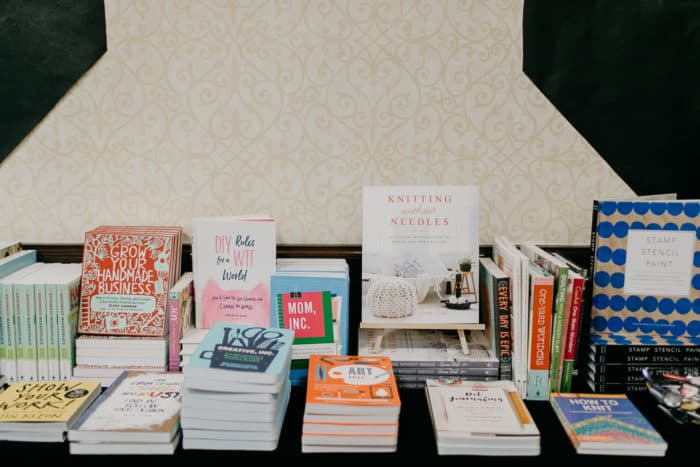 Craftcation 2018 Photo Of Books From Makers