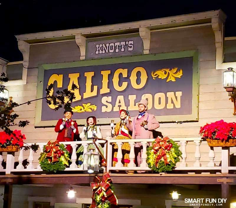 Christmas Carolers at Knott's Merry Farm
