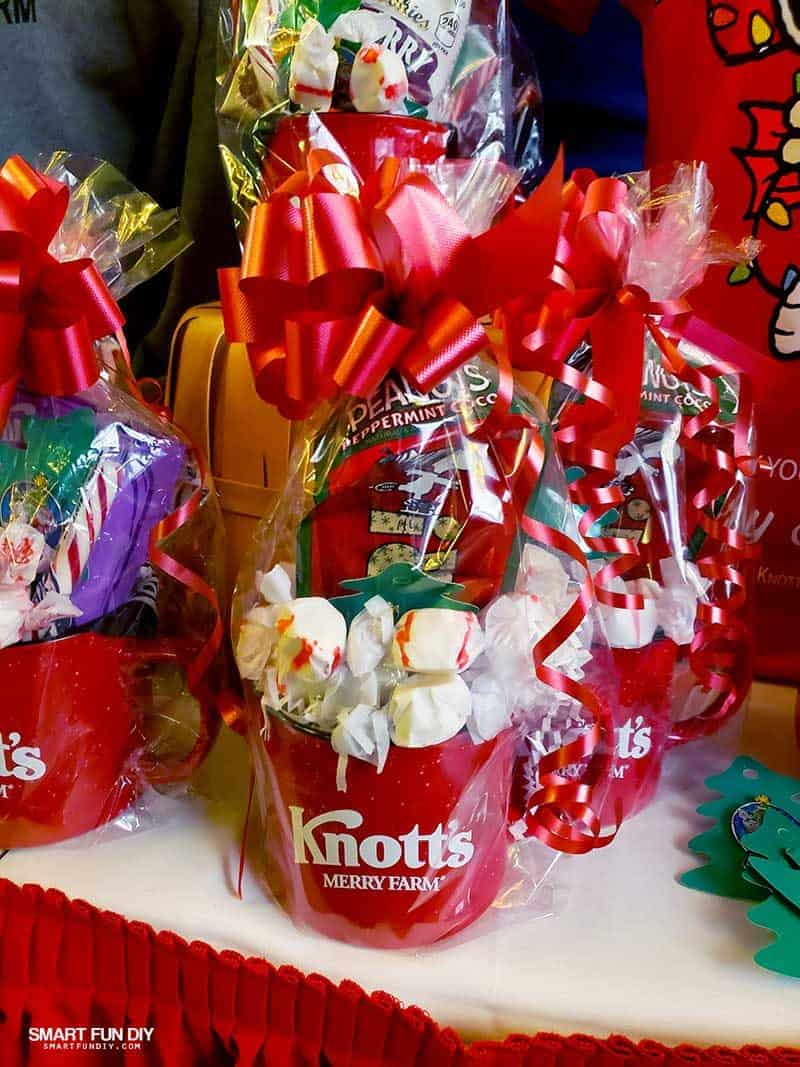 Holiday Gift Mugs at Knott's Merry Farm