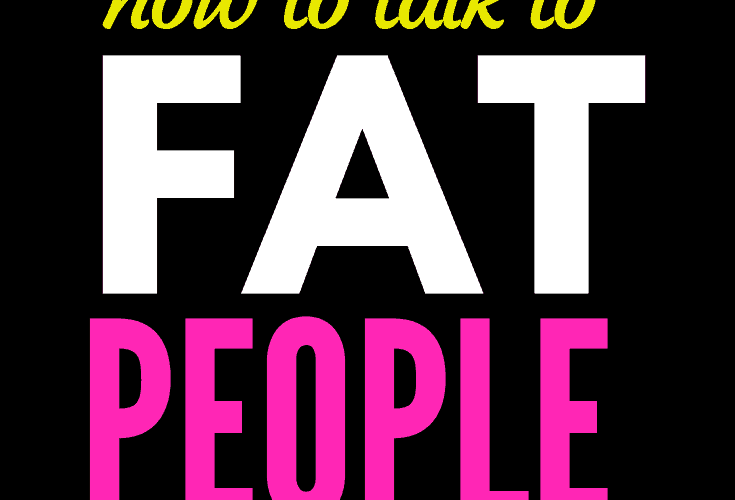 graphic - how to talk to fat people