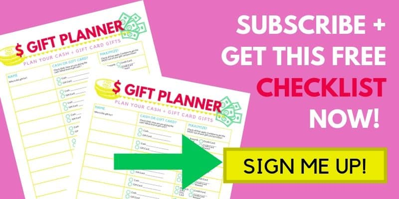 Signup box to get 2 free gift checklists