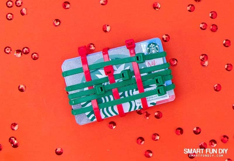 diy gift card brick
