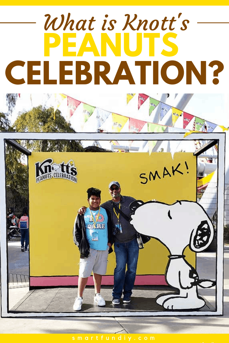 """What Is Knott's PEANUTS Celebration?"" graphic"