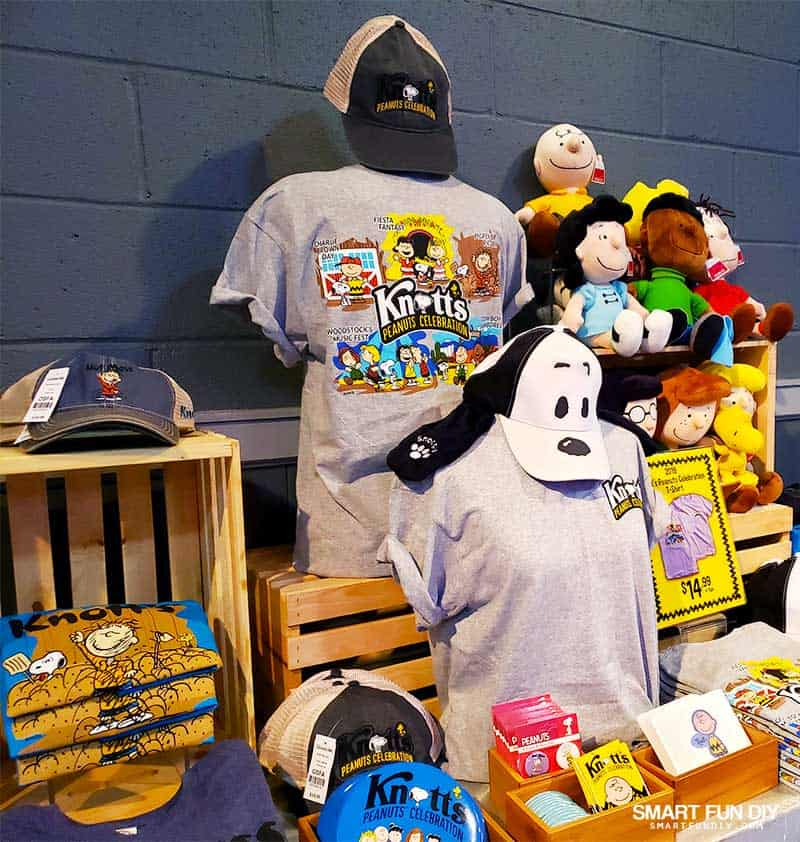 PEANUTS Celebration merch at Knott's Berry Farm
