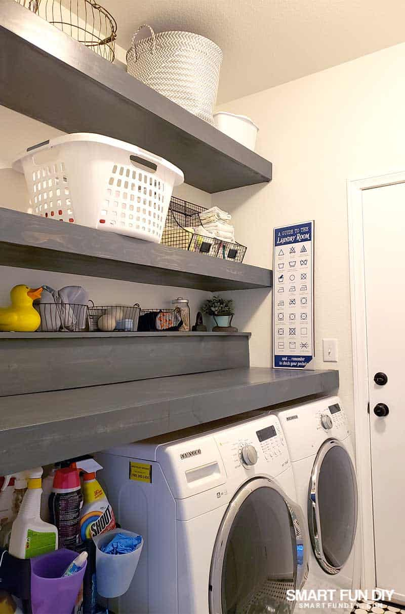 laundry room with one clothes basket